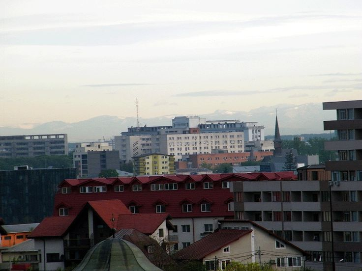 This mountain view is from Bucharest !!