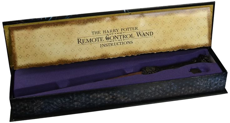"Harry Potter fans rejoice! The Harry Potter Remote Control Wand exists, and it can be all yours! Amazon is selling this incredible little device, which offers nine separate commands–including ""the Flick Up,"" ""the Flick Down"" and ""the Big Swish""–to control your television or other electronic device. The wand is set up to act"