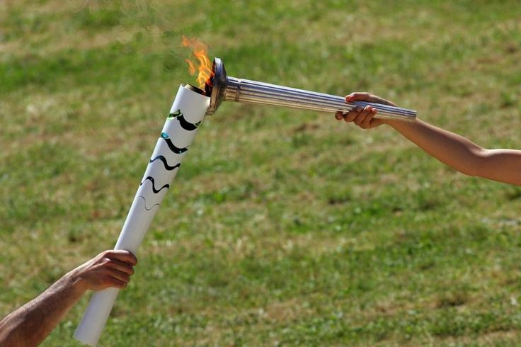 Rio Olympic Flame torch relay