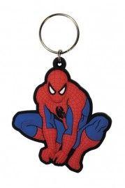 Spiderman Crouch - Rubber Keyring