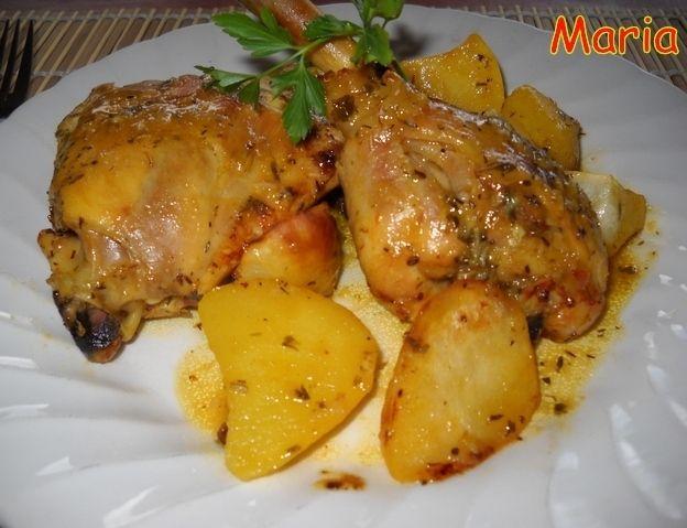 Pollo asado al estilo de mi madre