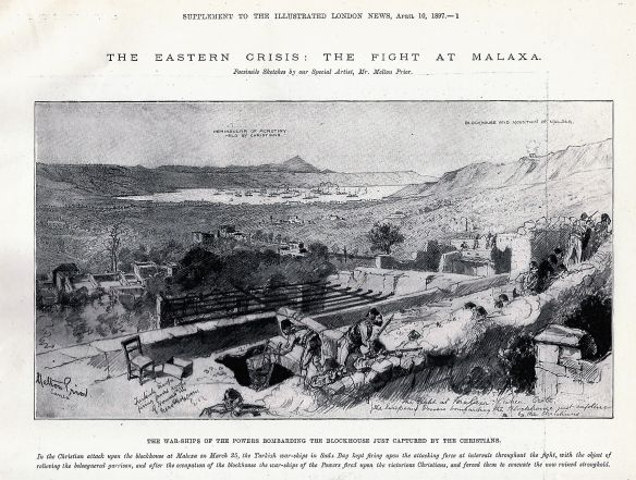 Ottoman troops during fight for Malaxa blockhouse, march 18978