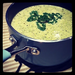 Cream of Broccoli Soup by CWA member, Janet Avery