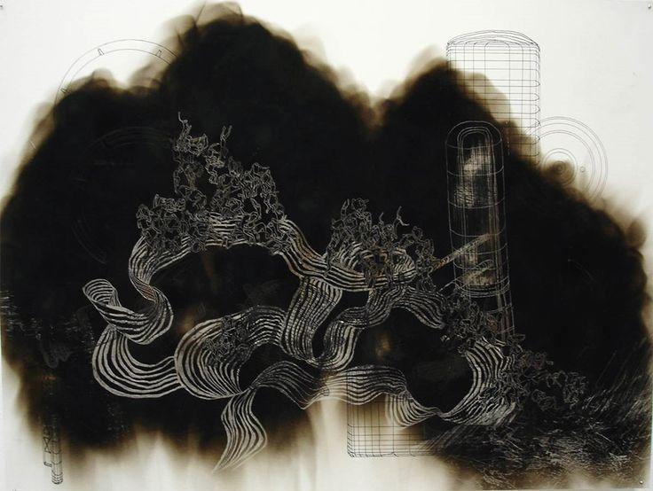 Smoke Drawings by Yuk King Tan