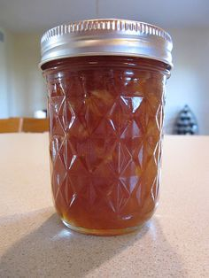 Carmel Apple Jam for gifts  6 cups apples, diced and peeled (1/8 inch cubes, roughly – this takes about three pounds of whole apples)  1/2 cup water  1/2 teaspoon butter  1 package (1.75 ounces) powdered fruit pectin  2 1/2 cups sugar  2 1/2 cups brown sugar  1 teaspoon ground cinnamon  1/4 teaspoon ground nutmeg
