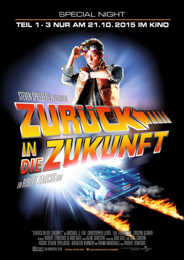 Zurück in die Zukunft - am 21. Oktober im Kino. - Universal Pictures