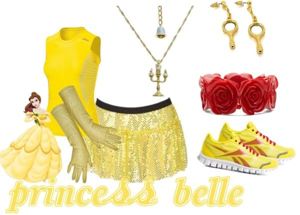 Princess Belle: Disney Princess Half Marathon Possibilities