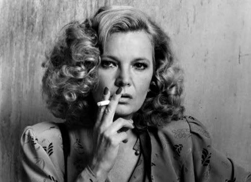 Gena Rowlands smoking a cigarette (or weed)