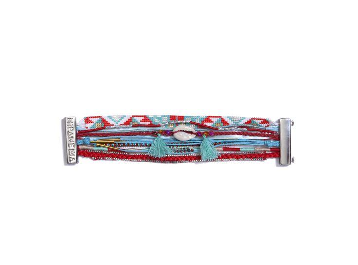 Bijou Hipanema DIABLO à 62.10€ en solde chez Montres et Plus #bracelet #brésilien #bijoux #accessoire #mode #manchette #été #femme