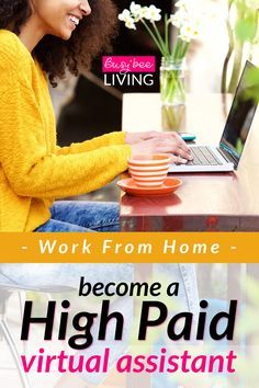 This is such a GREAT way to make money from home! It's so cool that you can start out making $25/hr as a beginner. One of the best ways to make cash online and make extra money for bills and paying off loans. Check this post out if you want to #workfromhome as a virtual assistant!