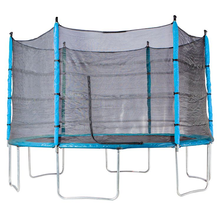 Action 12ft Trampoline Combo with Reversible Dual Coloured Pads | ToysRUs Australia