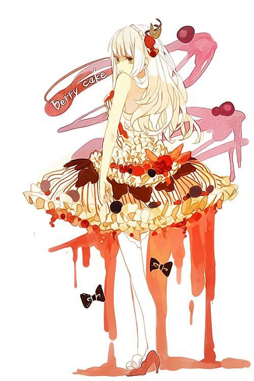Anime Character 777 : Food gijinka pinterest