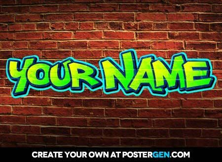 name style generator online A free online 3d text logo generator  than 450 cool artistic font faces to produce professional 3d logos with your name, message,  a rendering style .