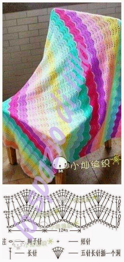 lo spazio di lilla: Schemi all'uncinetto assortiti.../ Free crochet charts selection...