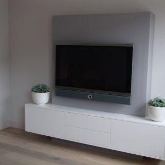 Tv ophangen wegwerken kabels
