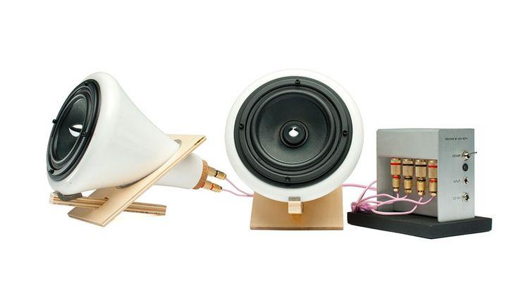 MONOQI | Lautsprecher + Verstärker