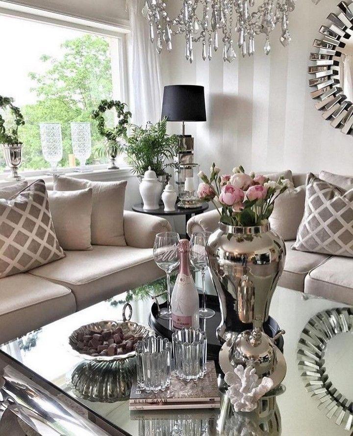 10 Dazzling Glam Decorating Ideas For Your Home 10 Dazzling Glam Decorating Ideas For Your Home Www Housenliving Inform In 2020 Decor Glam Decor Glam Bedroom Decor