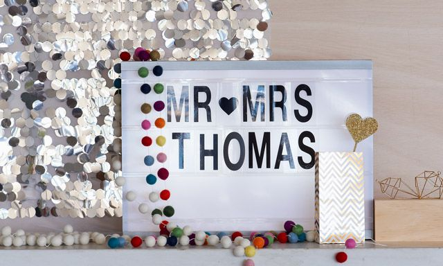 Create a fun place where guests can take photos.