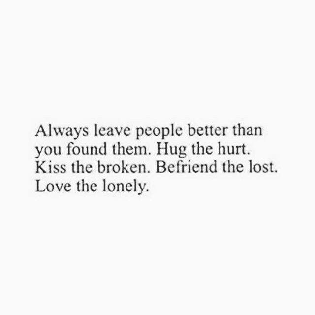Love the broken.