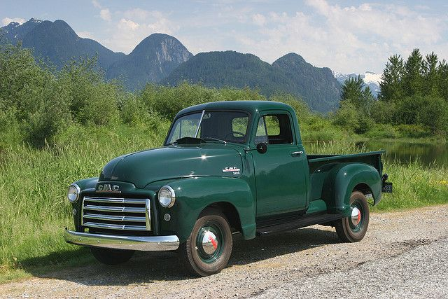 This reminds me of my grandfathers farm pickup. I Love old trucks!!!  Me