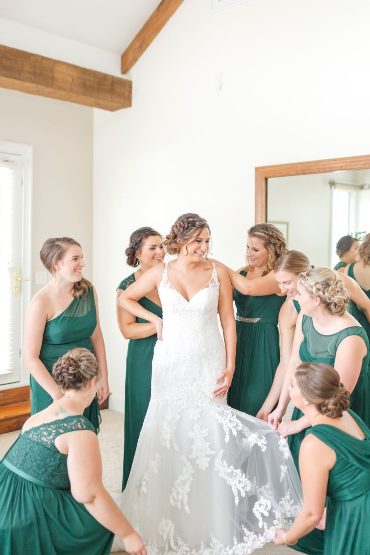 239 best bridesmaid dresses by color images on pinterest green bridesmaid dresses from davids bridal color juniper photo anna grace photography ombrellifo Image collections