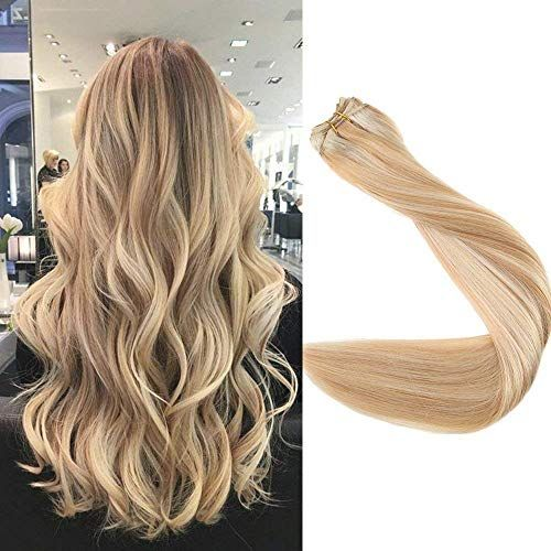 Enjoy exclusive for Surprise 24 inch Remy Brazilian Hair Bundles Balayage Hair Weft Double Wefted Color #27 Honey Blonde #613 Blonde Hair Weft Remy Hair 100g/package Full Head online