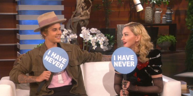 Madonna and Justin Bieber answered some PRETTY sexual questions on Ellen (guess who's done more).