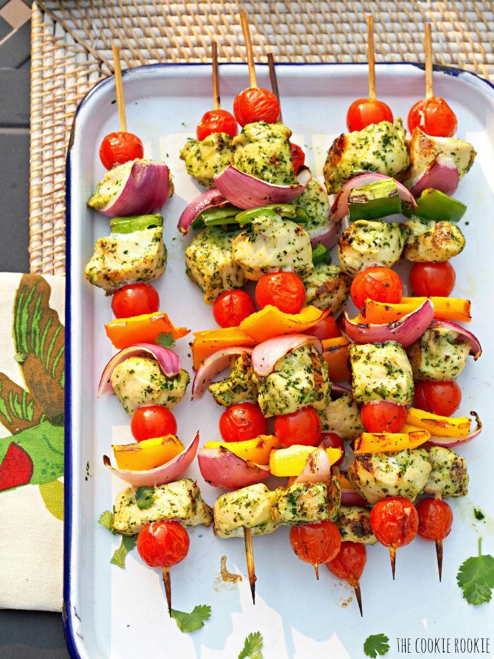 strawberry kabobs grilled chicken fajita kabobs chicken kabob recipe ...