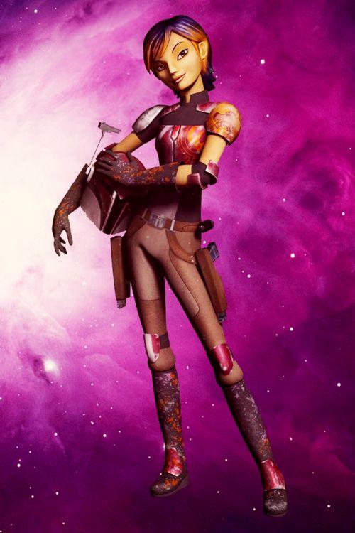 star wars rebels sabine deviantart   Star Wars Rebels: Meet Sabine, a Mando'ad with Mandokarla →