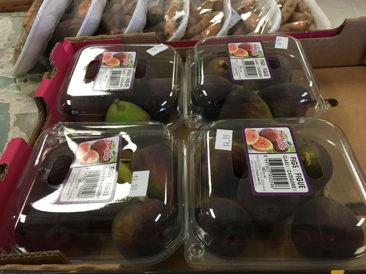 Fresh figs! Sweet and healthy, too!
