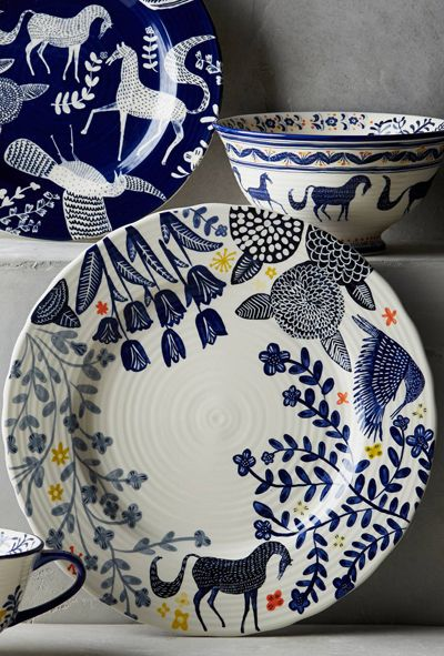 few highlights from the Anthropologie UK print & pattern