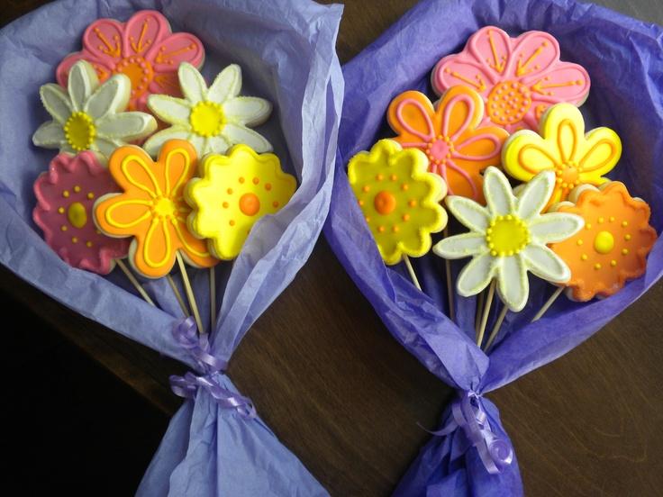 Cookie Flower Arrangements