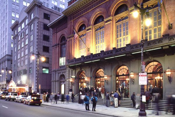 The Academy of Music, Center City, Philadelphia, PA. The oldest opera house in the United States that is still used for its original purpose.