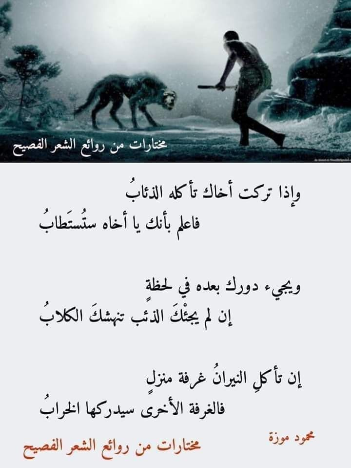 Pin By خالد On مكتبة روائع الشعر العربي In 2021 Beautiful Arabic Words Arabic Poetry Islam Hadith
