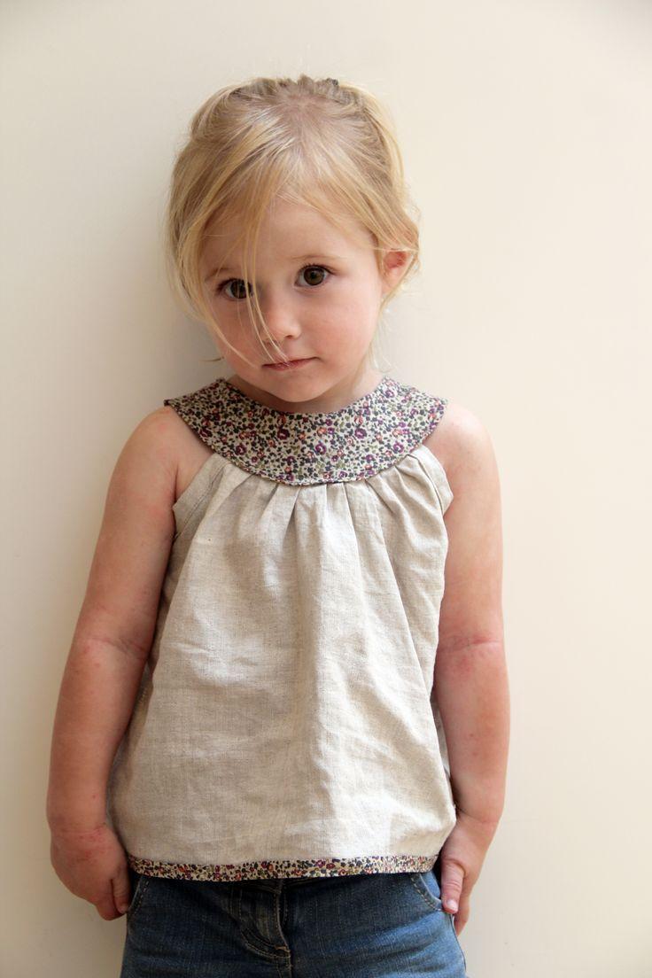 Tunique à encolure ronde (Intemporels pour enfants)