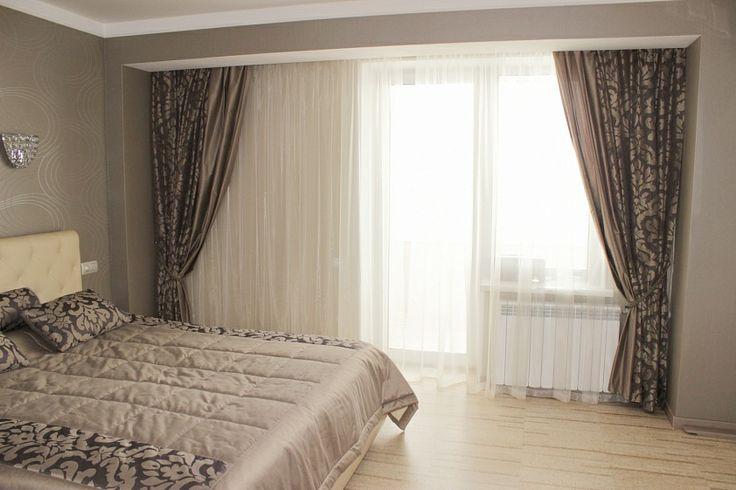 """Спокойная и элегантная спальня в нео-классическом стиле. Декоратор Лариса Каримова, """"Леди прима"""""""
