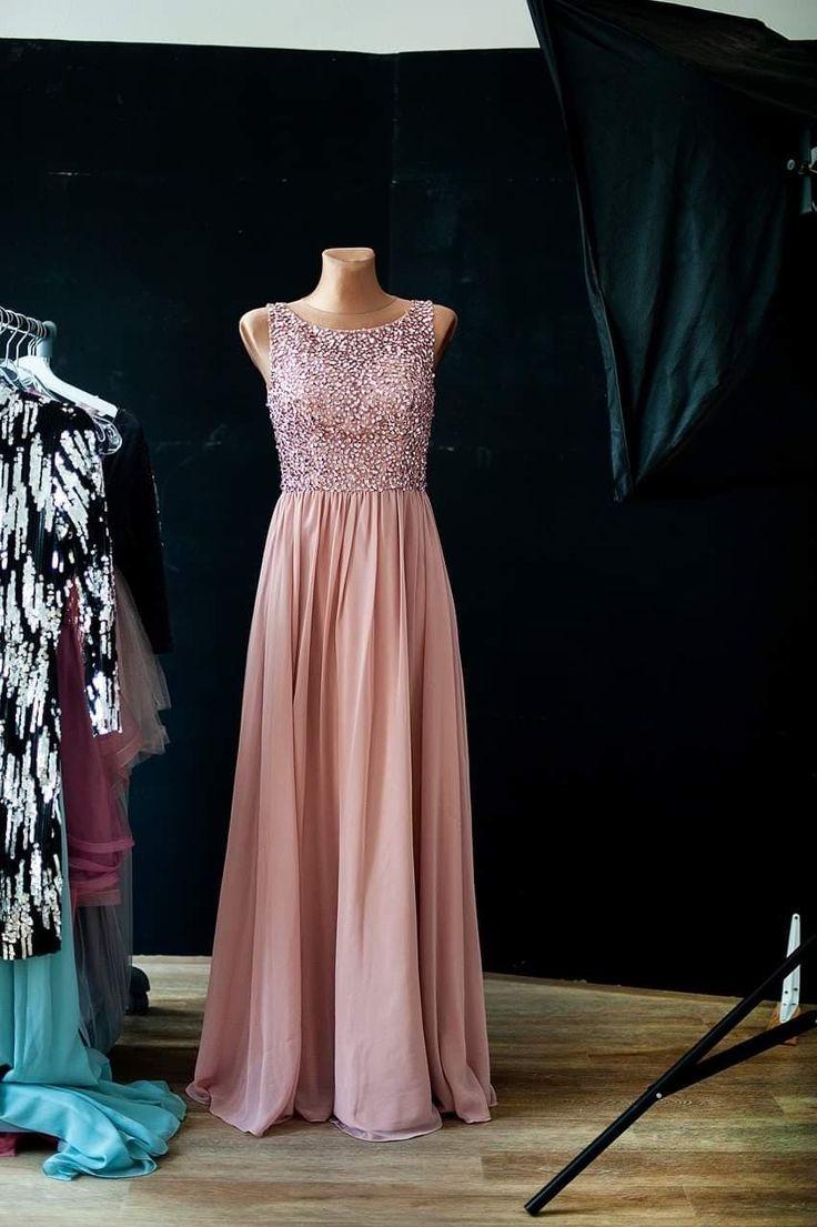 Festliches Abendkleid mit Glitzer in 2020   Kleider ...