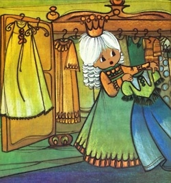 From my favorite children's book of all time, Princess Penelope's 365 Dresses