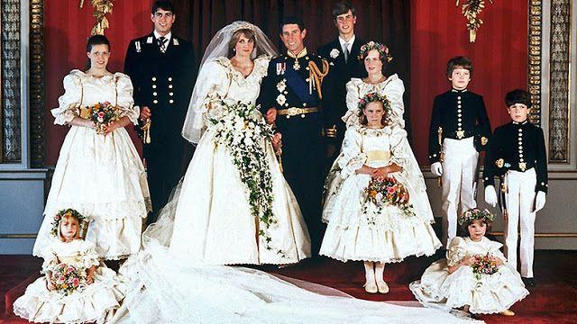 Königliche Juwelen: Hochzeit Diana Spencer und Prinz Charles 29.07.198...