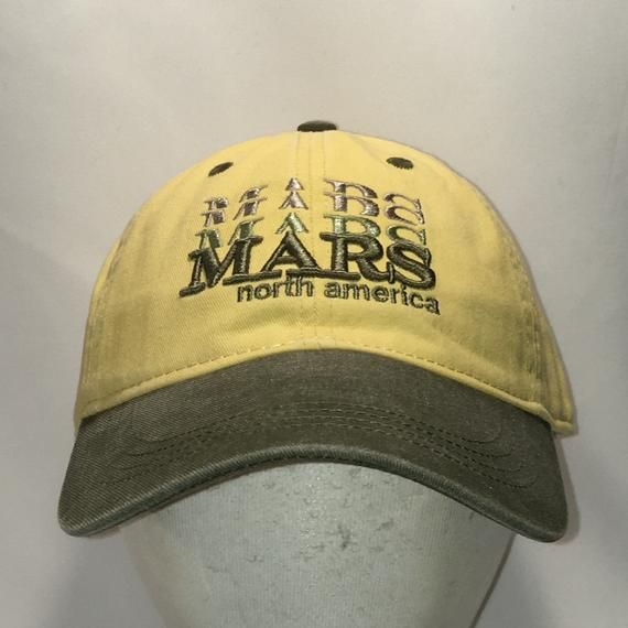 5c778578a39 Vintage Mars Hat North America Baseball Cap Chocolate Candy Confections Dad  Hats Yellow Green Cotton Mens Caps Cool Gifts For Dad T13 F9013  Mars   MarsHat ...
