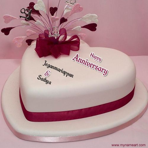 Best 25 Happy Marriage Anniversary Cake Ideas On
