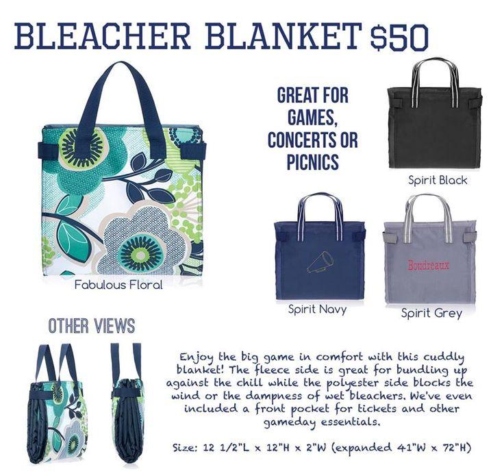Bleachers Blanket Spring Summer 2015 Thirty One