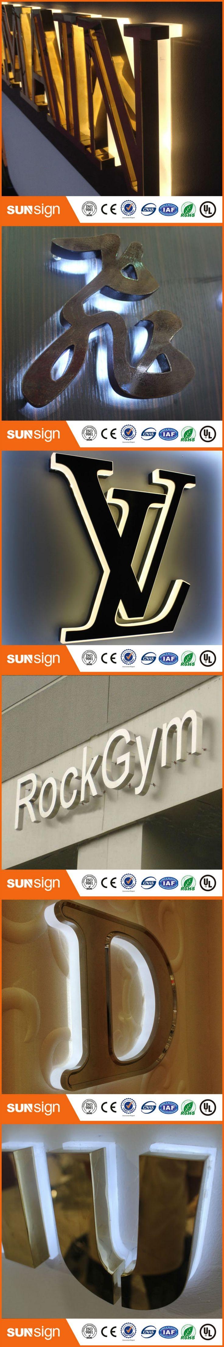 business letter format with enclosure%0A  d effect led backlit letter signage