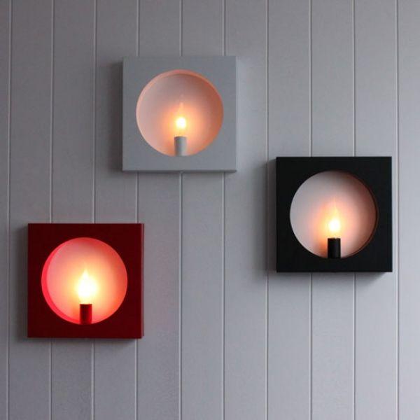 lamparas de pared artesanales - Buscar con Google