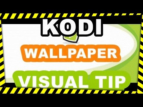 How To: add animated kodi wallpaper, gif ,links for download on descript...