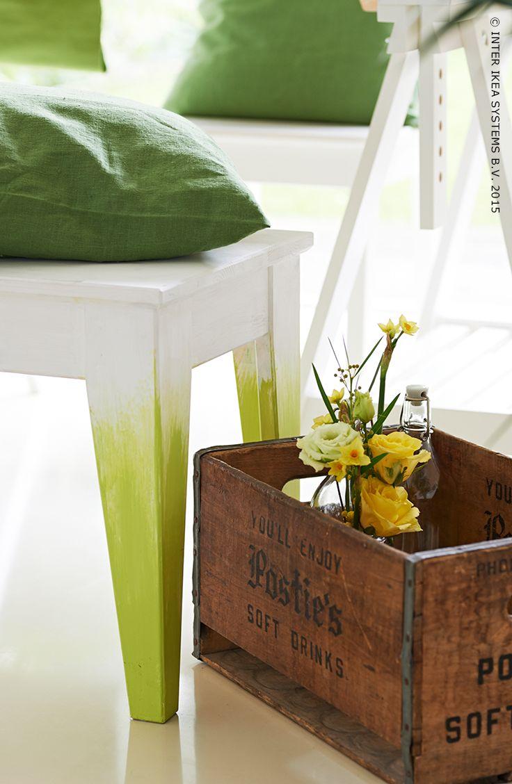 Le Banc Norn S Avec Un Joli Effet Ombre Ikea Terrasse Jardin