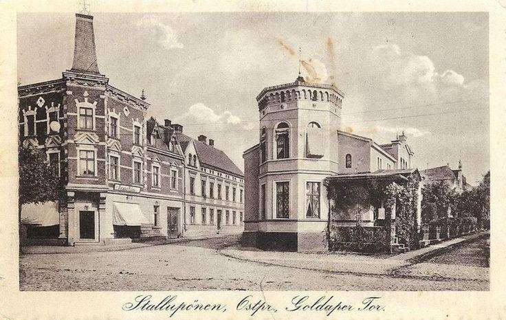 Stallupönen, Ostpr, Goldaper Tor. 1914.