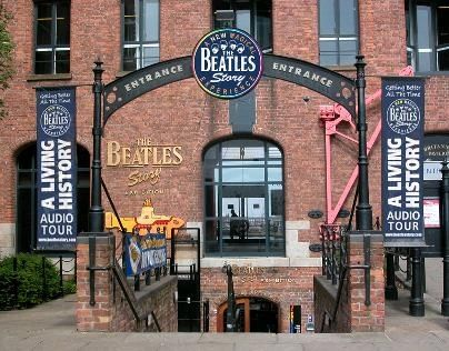 The Beatles story museum in Liverpool. Must go!