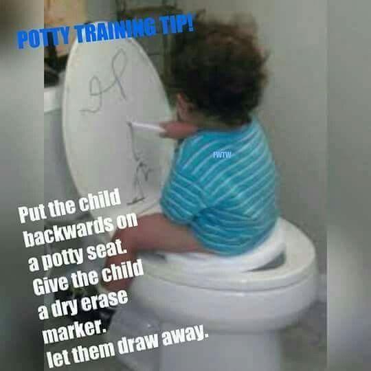 Babies kids children potty training