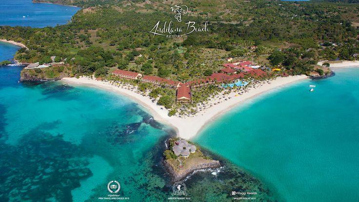 Andilana Beach Residence Website by Greenbubble